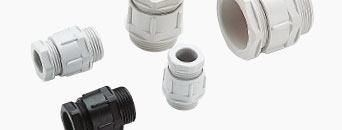 Cable glands in polyamide