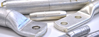 Uninsulated aluminium connectors